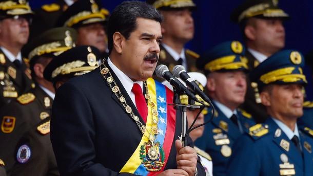 Venezuela: Trump-Regierung soll über Sturz von Maduro gesprochen haben