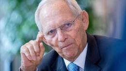 Schäuble als Bundestagspräsident abgelöst