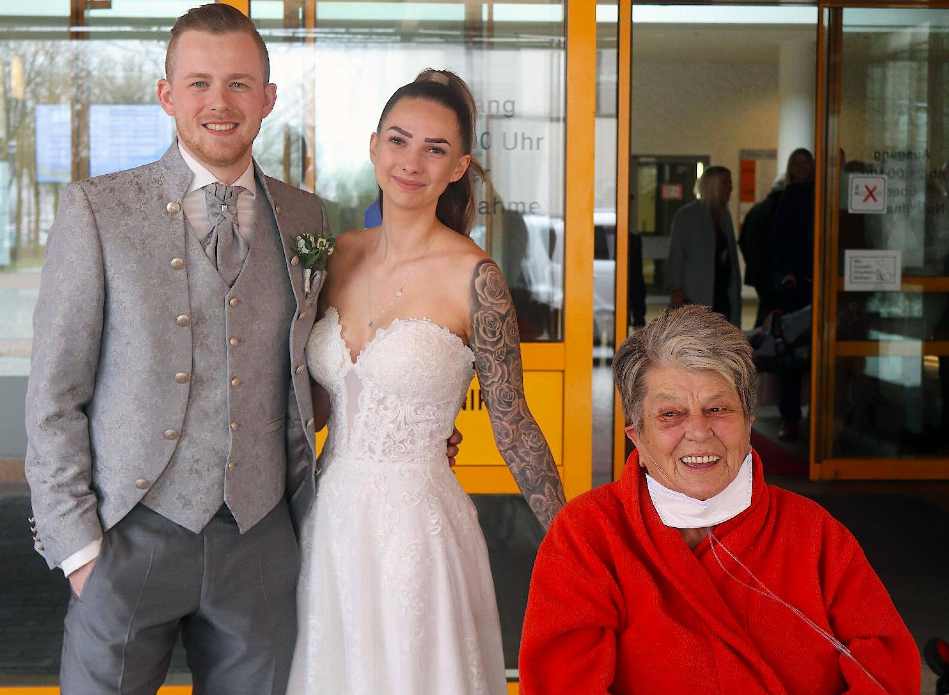 hochzeit im krankenhaus: nicht ohne die oma