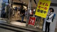 Japans Wirtschaft schrumpft