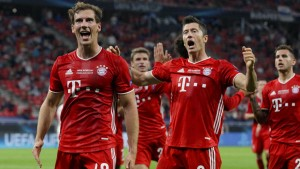 """""""Super-Bayern"""" gewinnen Supercup im Risikogebiet"""