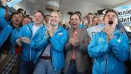 Jubel bei der CDU