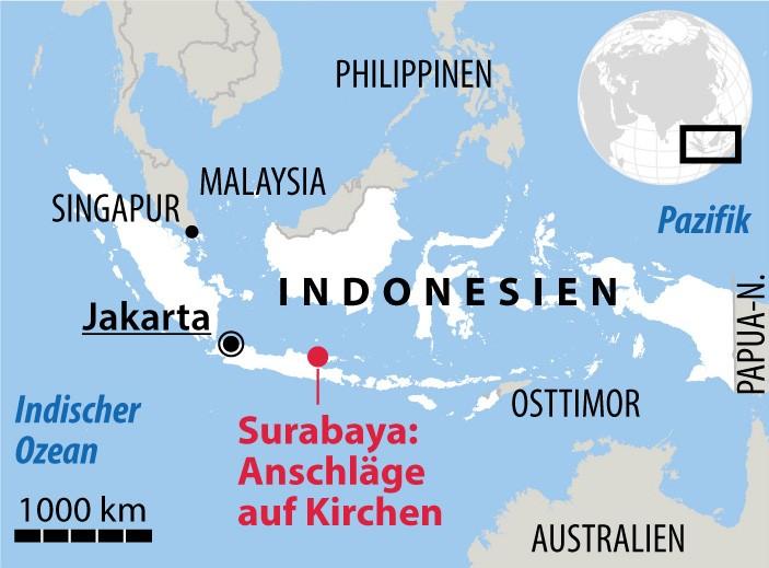 Indonesien: Eine Familie, drei Anschläge, zehn Minuten