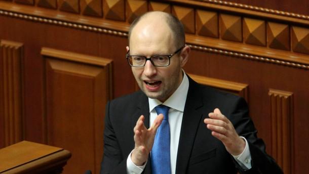 Ukrainisches Parlament billigt Sparpaket