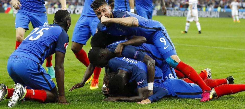 Frankreich Besiegt Island Und Trifft Im Halbfinale Der Em 2016 Auf