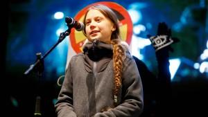 """Greta Thunberg in Madrid: """"Ihr seid die Hoffnung"""""""