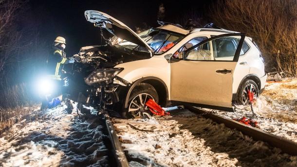 Zwei Tote bei Unfall an Bahnübergang bei Flensburg