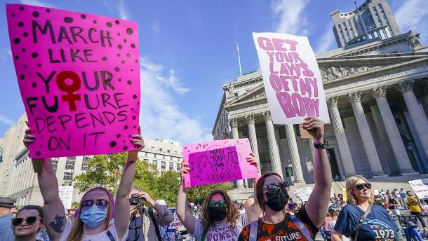 Massenproteste gegen neues Abtreibungsgesetz in Texas