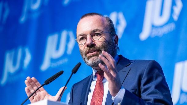 Weber als EVP-Fraktionschef bestätigt