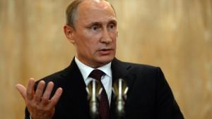 Putin dämpft Hoffnung auf Ende der Ukraine-Krise