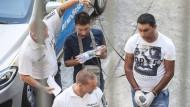 Vier mutmaßliche Schlepper in Untersuchungshaft
