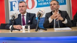 Kurz fordert Entlassung von Innenminister Kickl