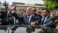 Dürfte Tunesiens neuer Regierungschef werden: Der konservative Jurist Kaïs Saïed