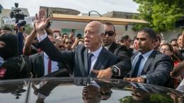 Konservativer Außenseiter gewinnt in Tunesien