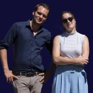 Führen durch die einzelnen Themenfelder und Theaterstücke: F.A.Z.-Redakteur Simon Strauß, Kulturjournalistin Charlotte Bernstorff und Theaterkritiker Kevin Hanschke (v.l.n.r.)