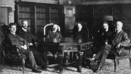 Er übernahm am 11. November 1918 die Regierung: der Rat der Volksbeauftragten