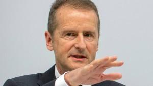 Volkswagen-Chef Diess stellt sich hinter inhaftierten Stadler