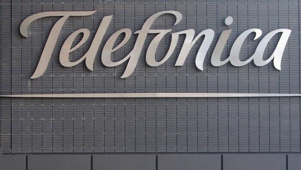 Vor Boersengang der Telefonica Deutschland