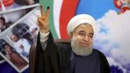 Rohani gewinnt Präsidentenwahl