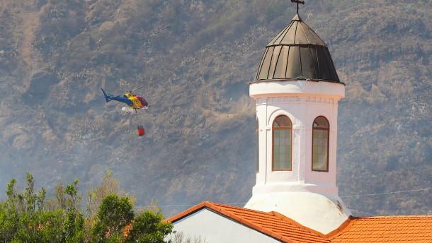 Waldbrand auf Gran Canaria offenbar fahrlässig ausgelöst