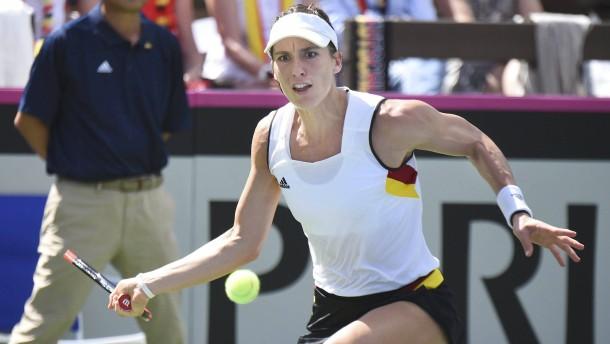 Deutsche Tennis-Damen verlieren gegen Amerika