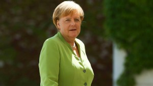 Merkel will nicht mit der Linkspartei zusammenarbeiten