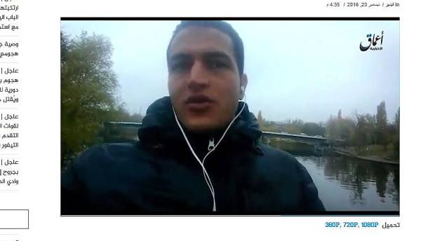 IS-Sprachrohr veröffentlicht angebliches Amri-Video