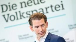 """Kurz vermutet """"Fälschungsskandal"""""""