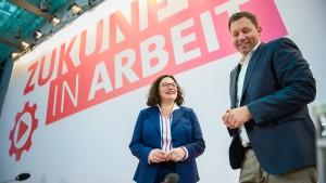 Die SPD ist ein politischer Sozialfall