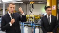 Was macht Macron mit Ghosn?