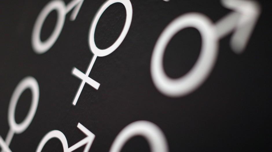 Nicht Frau, nicht Mann: Etwa 80.000 Menschen in Deutschland können nicht eindeutig einem Geschlecht zugeordnet werden.