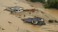 Heftige Überschwemmungen in Japan