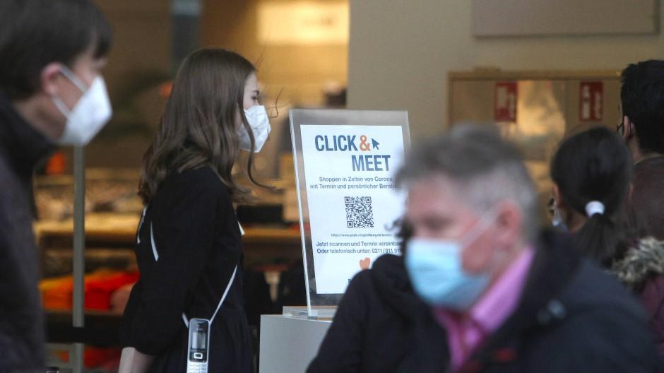 Mit Termin und Test: Geschäfte in Frankfurt dürfen am Freitag wieder öffnen