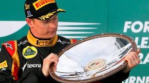 Strahle mit Schale: Glänzender Saisonauftakt für Kimi Räikkönen