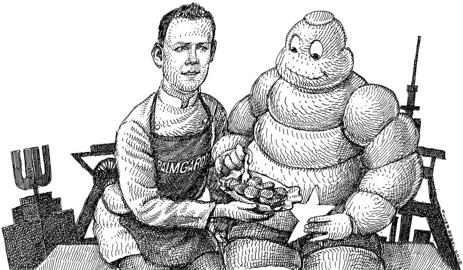 Geradlinig und entschlossen: In Windeseile hat sich Michael Dyllong einen Michelin-Stern erkocht.