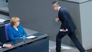 Kanzleramt wusste nichts von de Maizières umstrittener Weisung