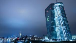 EZB muss Unternehmensanleihen mit negativem Zins kaufen
