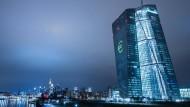 Das EZB-Gebäude in Frankfurt.