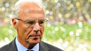Durchsuchung bei Beckenbauer