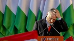 Orbáns Partei Fidesz droht der Ausschluss
