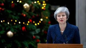 Theresa May will sich gegen Misstrauensvotum wehren