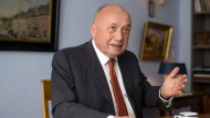 Vertreter einer selten gewordenen Spezies: der Privatbankier Friedrich von Metzler