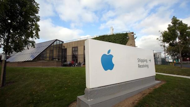 Apple vor Gericht in Europa