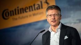 Conti-Chef Degenhart legt sein Amt vorzeitig nieder