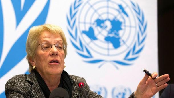 Un kommission zur untersuchung von kriegsverbrechen in syrien berufen