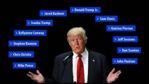 Das Netzwerk von Donald Trump