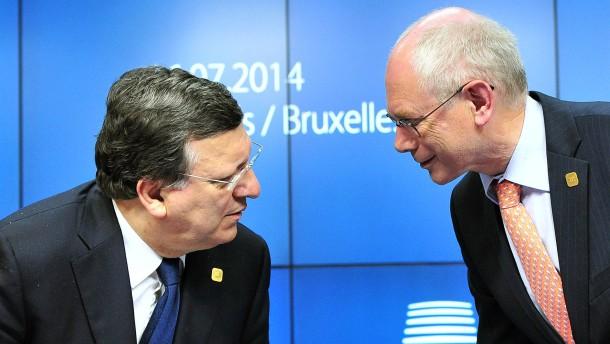 Van Rompuy: Unglücklich, aber nicht dramatisch