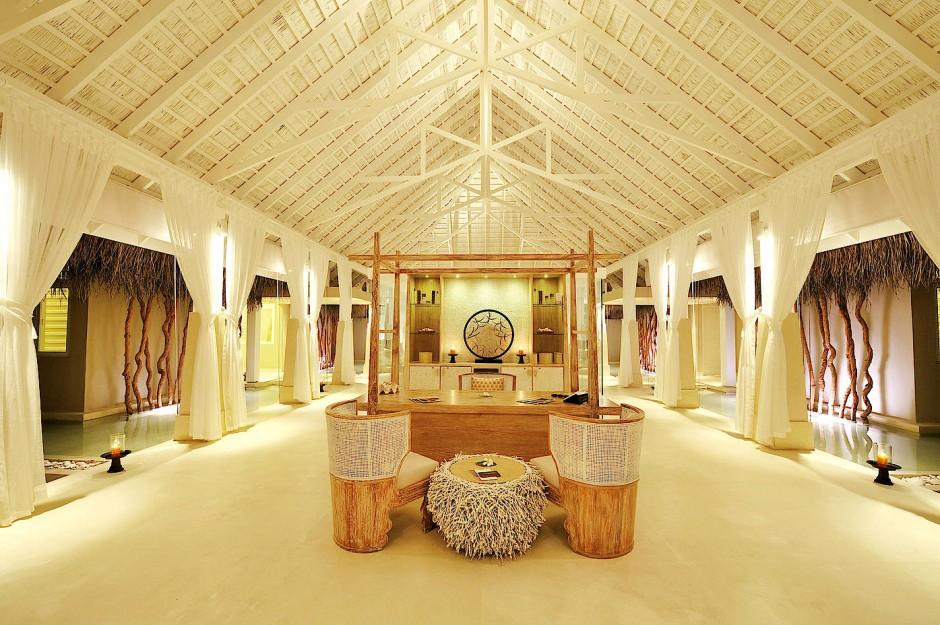 """Auf Wunsch gibt es auch ein Spa-Center nur für Damen: Das """"Resort Ayada Maldives"""""""