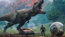 Alle wollen die Dinos sehen