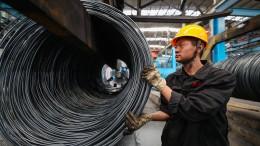 Chinas Wachstum so niedrig wie seit 1990 nicht mehr